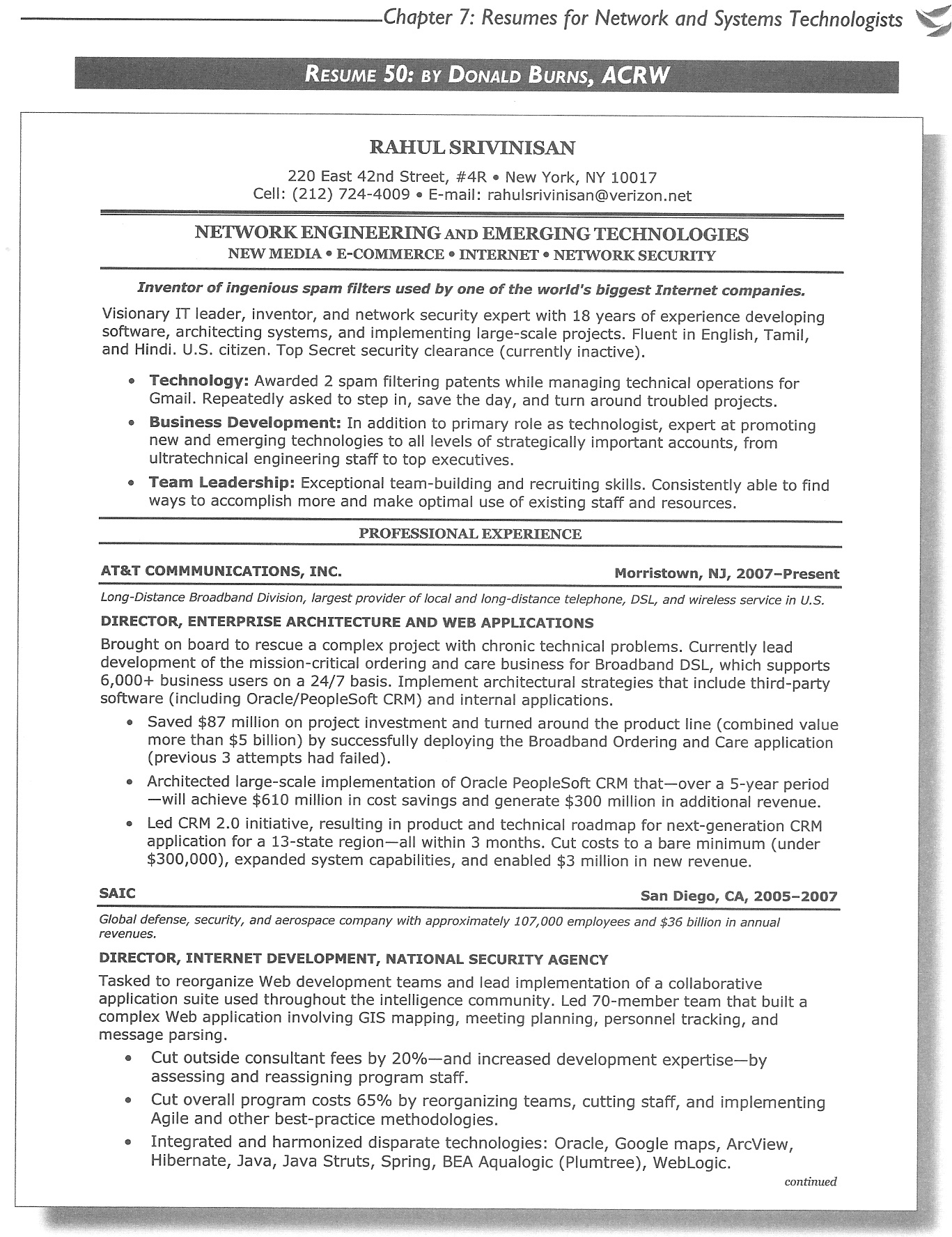 Sample Engineering Resume Magnificent EngineeringResumeSample CareerDefense