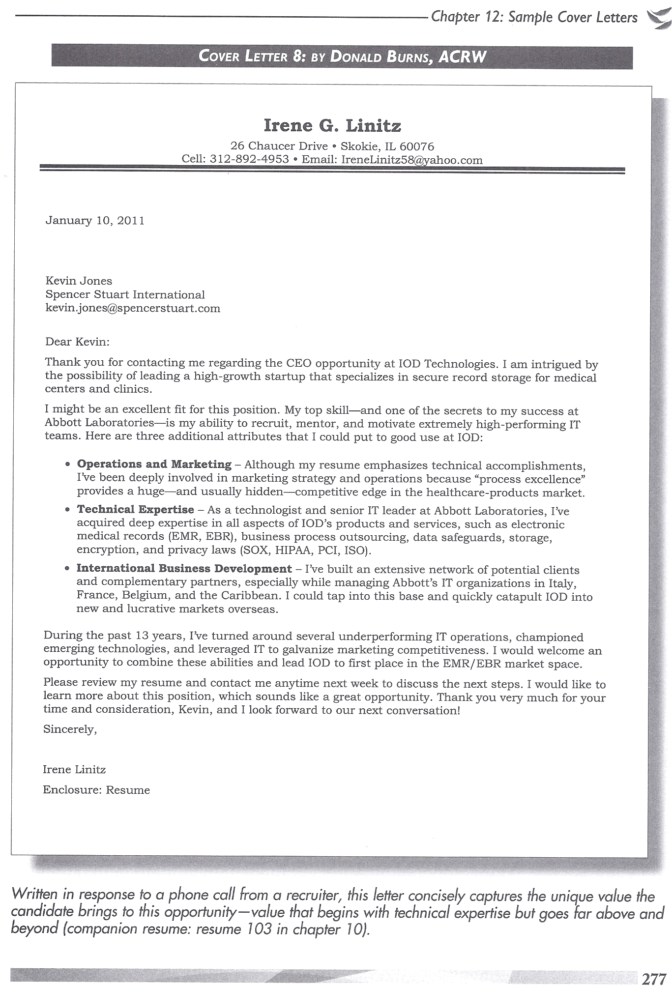 sample of an engineering resume cover letter coverletter